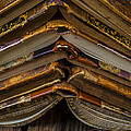 Antique Books Print by Garry Gay