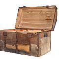 Antique chest Print by Sinisa Botas