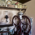 Antique Coffee Mill Poster by Susan Candelario