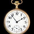 Antique Gold Pocketwatch Print by Jim Hughes