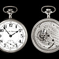 Antique Pocketwatch Print by Jim Hughes