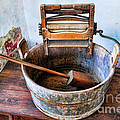 Antique Washing Machine Poster by Paul Ward
