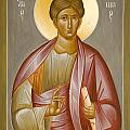 Apostle Philip Print by Julia Bridget Hayes