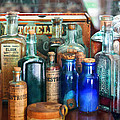 Apothecary - Remedies for the Fits Poster by Mike Savad