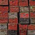 Apple Crates Print by Garry Gay