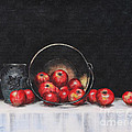 Apple Still Life Poster by Rita Miller