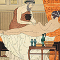 Application of White Egyptian Perfume to the Hip Print by Joseph Kuhn-Regnier