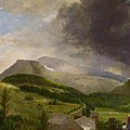 Approaching Storm  White Mountains Print by Alvan Fisher