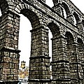 Aqueduct of Segovia - Spain Print by Juergen Weiss