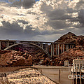 Arch Bridge and Hoover Dam Print by Robert Bales