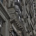 Architectural Detail by David Bearden