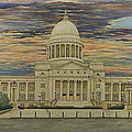 Arkansas State Capitol Print by Mary Ann King