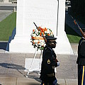 Arlington National Cemetery - Tomb of the Unknown Soldier - 121213 Print by DC Photographer