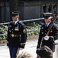 Arlington National Cemetery - Tomb of the Unknown Soldier - 121222 Poster by DC Photographer