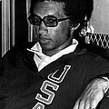 Arthur Ashe With Sunglasses Print by Retro Images Archive