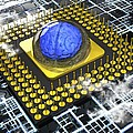Artificial intelligence, conceptual Poster by Science Photo Library