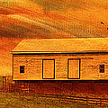 As The Sun Sets Print by Kathy Jennings