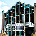 Asbury Park Casino - My City in Ruins Print by Bill Cannon