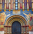 Assumption Cathedral entrance Print by Elena Nosyreva