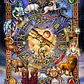 Astrology Poster by Ciro Marchetti