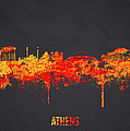 Athens Greece Poster by Aged Pixel