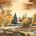 Autumn Sky No W103 Print by Kip DeVore