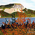 Autumn Sunset on the Hills Poster by Barbara Griffin