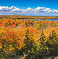 Autumn Vistas of Nicolet Bay Poster by Shutter Happens Photography