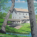 Award-winning painting of Beckman's Mill Print by Norm Starks