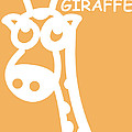 Baby Room Art - Giraffe Print by Nursery Art