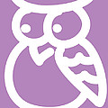 Baby Room Art - Owl Print by Nursery Art