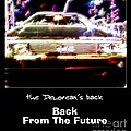 Back From The Future Print by Renee Trenholm