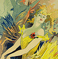 Back-Stage at the Opera Print by Jules Cheret