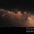 Badlands Lightning Poster by Chris  Brewington Photography LLC