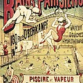 Bains Parisiens. Advertisment Marking Print by Everett
