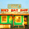 Bait Shop 20130309-1 Poster by Wingsdomain Art and Photography