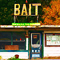 Bait Shop 20130309-3 Poster by Wingsdomain Art and Photography