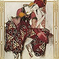 Bakst, L�on 1866-1924. La P�ri. 1911 Poster by Everett