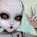 Ball Jointed Doll Print by Liam Liberty