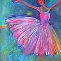 Ballet Bliss Print by Deb Magelssen