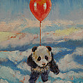 Balloon Ride Print by Michael Creese