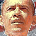 Barack Obama American President Poster by Peter Art Gallery  - Paintings Photos Prints Posters