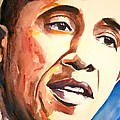 Barack Obama Print by Brian Degnon