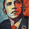 Barack Obama's Hope Print by Cora Wandel