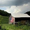 Barn in the USA Print by KAREN WILES