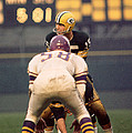 Bart Starr Looks Around Print by Retro Images Archive