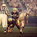 Bart Starr Looks Calm Print by Retro Images Archive