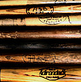 Baseball Bats Poster by Bill Cannon