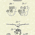 Baseball Glove 1907 Patent Art Poster by Prior Art Design