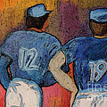 Baseball Team by jrr  Print by First Star Art